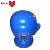 Inflatable blue boxing glove for kids