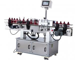 China SS304 Auto Bottle Sticker Labeling Machine With Paper Or Plastic Label on sale