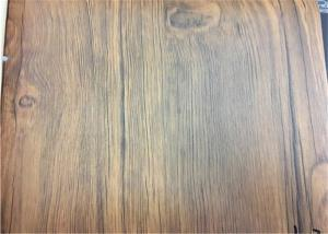 China Furniture PVC Lamination Film Wood Texture PVC Membrane Foil Non Adhesive on sale