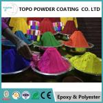 RAL 1002 Decorative Powder Coating Smooth Texture 12 Mos Shelf Life