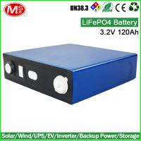 solar battery 3.2V 120Ah lifepo4 batteries packs for Solar home energy storage