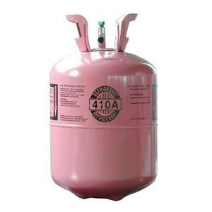 China Gas R410a Refrigerant / HFC Refrigerants 30LBS Disposable Cylinder With 99.9% Purity on sale
