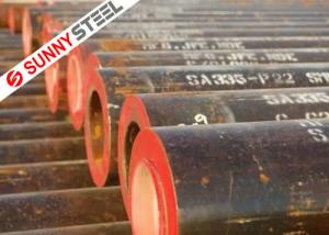 China ASTM A335 P22 steel pipe on sale