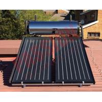China Pressurized Flat Plate Solar Heating System , Kitchen Use Flat Plate Solar Water Heater on sale
