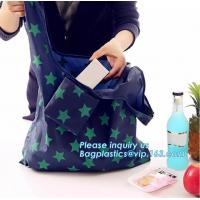 China reusable polyester foldable shopping bag pattern eco fruit shape zipper foldable tote bag,production polyester polyester on sale