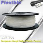 Red Flexible 3d Printer Filament materials in 3d printing 1.75 / 3.0 mm 0.8KG / Roll