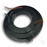 China 110mm inner hole,16 channels PanCake Slip Rings(VSR-P110-16) on sale