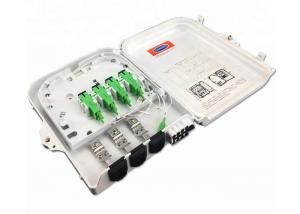 China ABS material IP65 Waterproof 8 Core Outdoor Fiber Optic Termination Box on sale