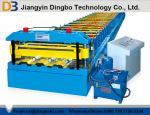 Cubierta de metal rollo forma las máquinas de alta velocidad con sistema hidráulico