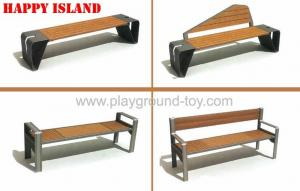 China Customized Garden Park Bench , Outdoor Park Benches on sale