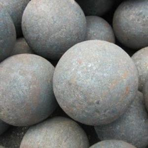 China 75MnCr/65Mn/60Mn High Hardness φ20mm-150mm Forged Grinding Media Steel Ball on sale