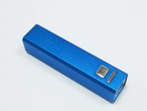 China Lipstick Slim Ultra Small Usb Power Bank  2600mAh For Iphone 5s , Micro Usb Portable Charger on sale