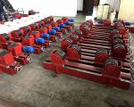 Conventional Tank Turning Rolls , 5 Ton Welding Rotator Stands Lead Screw Adjustment