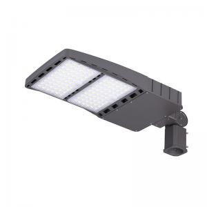 China Ip66 LED Shoebox Light 150W DLC ETL  , 200W Solar Powered Street Lamp on sale