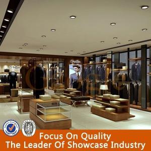 b84604eae21 ... Quality Retail New Style Menswear Garment Shop Interior Gesign for sale  ...