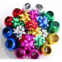 Plastic Ribbon Confetti Star Bow Satin Curling Ribbon Egg For Decoration