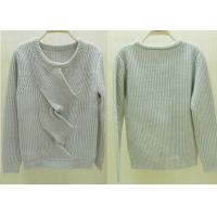 Crew Neck Chunky Womens Cable Knit Sweaters