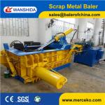 Hydraulic Scrap Metal Baler Light Metal Scrap Baling Press Machine Y83-125
