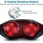 Ergonomic Design Homedics Back And Neck Massager With Soothing Heat