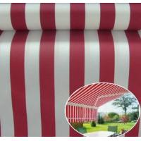 Sunshade Polyster Fabric Yellow Stripe Outdoor UV Protection Polyester Fabric Awnings, Boat covers, bimini tops, sail-co
