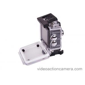China 2.4G Remote Underwater Sports Camera , Waterproof Helmet Camera Micro SD Storage on sale