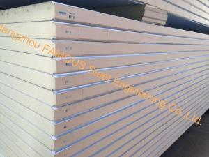 China Prefabricated Double Temperature Cold Room Panel Half Freezer And Half Refrigerator Walk In Freezer on sale