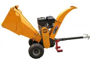 China 15HP Gasoline Engine 5 Inch Wood Chipper With Recoil / Electric Starting System on sale