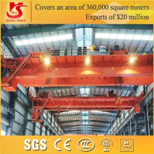 China Workshop application new design electric double girder overhead crane on sale