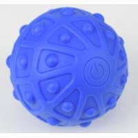 Yoga Vibration Foam Roller Soft Rubber massager with 2 Vibration Intensity