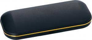 China Caja de vidrios plástica negra linda ligera, caja plástica de las gafas de sol on sale