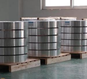 China 3003 h19 aluminium strip for insulating glass / Aluminum Spacing Strip on sale
