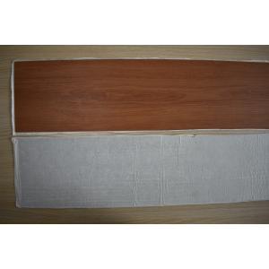 Residential Waterproof Vinyl Flooring , High Gloss Vinyl Wood Plank Flooring