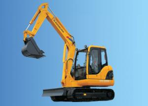 China ZOOMLION Heavy Equipment Excavator Small Cat Excavator ZE60E on sale