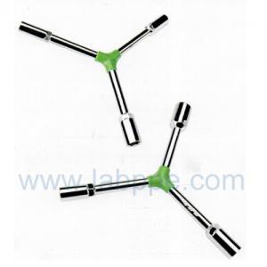 Quality Y1210-Plastic clip trigeminal Y hex key chrome wrench 8/9/10mm Hexagonal Hex for sale