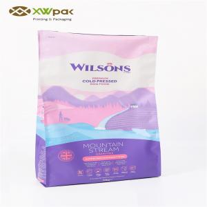 China Customized Pet Food Packaging Bag 10KGS Moisture Proof / Air Proof on sale