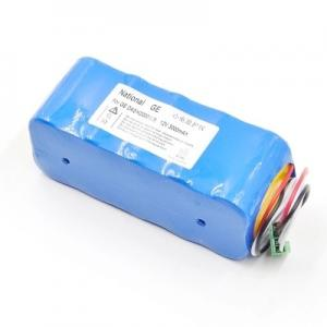 China GE DASH2000 battery ECG monitor rechargeable battery 12V 3000mAh repair parts compatible Importer  Probe on sale