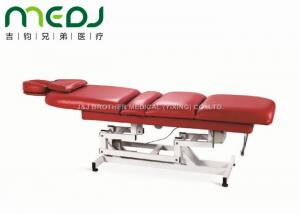 China 3 Sections Hospital Examination Table , MJSD07-01 Electric Massage Table OEM Available on sale