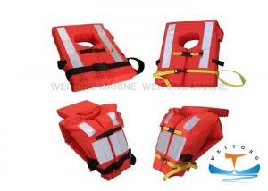 China EC Foam Custom Life Preserver Vest , Boat Life Jackets Orange High Life - Saving Ratio on sale