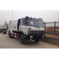 China venta 6 cbm 8 cbm 8m3 4x2 de la fábrica del precio de descuento camión de basura del salto de 190 caballos de fuerza on sale