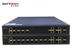 Dual Power Supply 10G GPON OLT With 16 PON Ports 4GE Combo