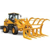 Flexible 936 Front Head Loader , 3 Ton Wheel Loader With Grass Fork Attachment