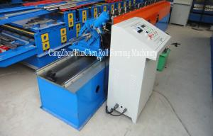 China Run Cutting C Purlin Metal Stud And Track Roll Forming Machine For Steel Frame on sale