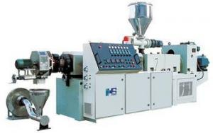 China PVC Plastic Granules Machine , High Speed Pellet Extruder on sale