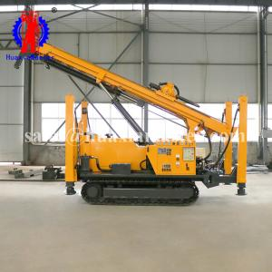 China huaxiamaster full hydraulic air drilling rig JDL-400/soil layer and bed rock water well drilling machine for sale on sale