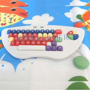 China Spill-proof and washable children color keyboard with oversize keys K-800 on sale