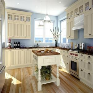 Free Standing Mdf Kitchen Cabinets Quartz Granite Countertop