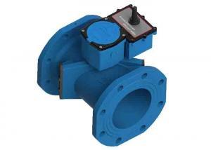 China GSM / GPRS Transit Time Ultrasonic Water Meter For Volumetric Measurements on sale