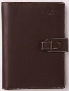 China PU material leather cover notebook_office supplies china factory on sale