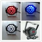 aluminum 18PCS RGABW 5 in 1 high power led wall washer par64 led light