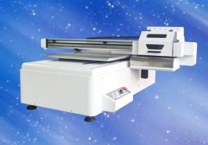 China 6090 UV Flatbed Inkjet Printing Machine For Mobile Phone Case / Tile / Glass on sale